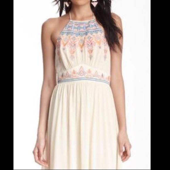Anthropologie Dresses Embroidered Bodice Maxi Dress Size S Poshmark